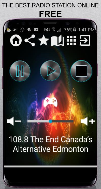 Скриншот 108.8 The End Canada's Alternative Edmonton 108.8