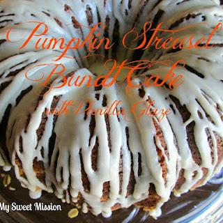Pumpkin Cake w/Cream Cheese Frosting