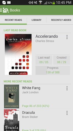 Aldiko Book Reader 3.1.3 screenshots 1