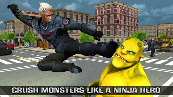 Amazing Hero Ninja City Rescue Game- screenshot thumbnail