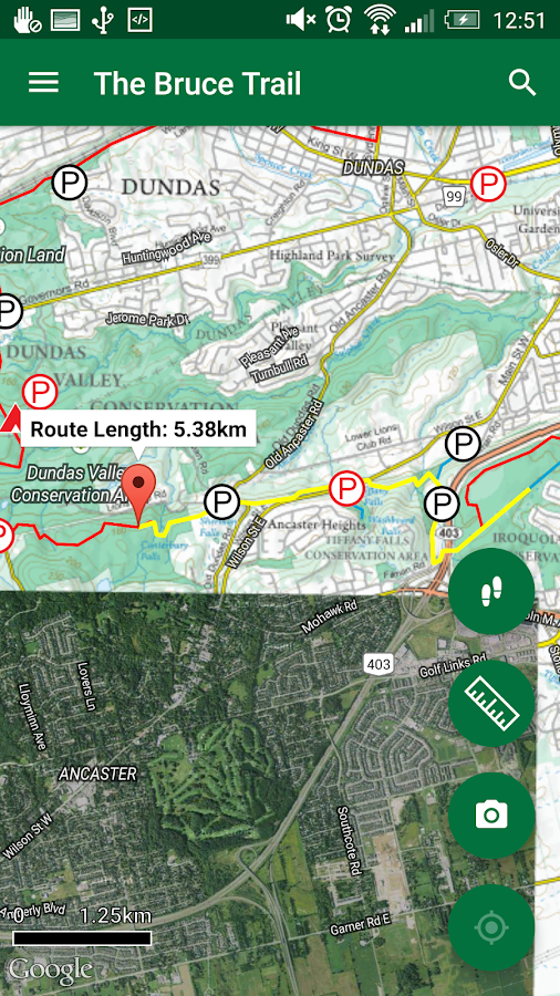 The Bruce Trail - Official- screenshot