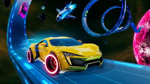 Light Car Stunt: Stunt Car Racing Games  captures d'écran 2