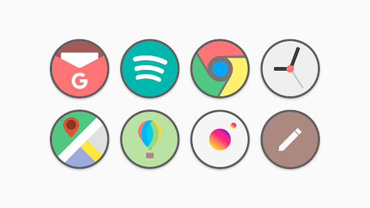 Flat Circle - Icon Pack 2.0 (Patched)