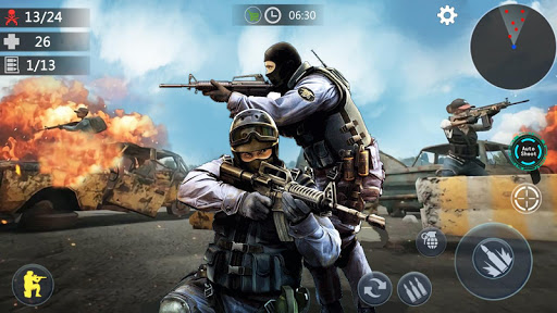 Encounter Terrorist Strike: FPS Gun Shooting 2020  screenshots 11