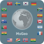 World atlas & map MxGeo Pro v3.0