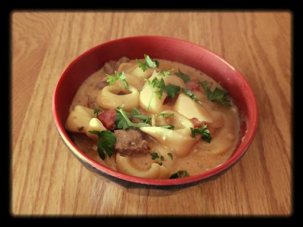 Tortellini And Ground Beef Casserole Recipe