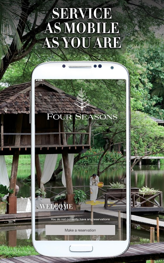 Four Seasons Hotels- screenshot