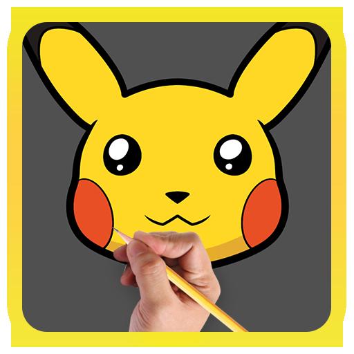 How To Draw Pokemon Characters 遊戲 App LOGO-硬是要APP