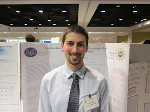 Photo: Curt, MAA Poster Session, JMM New Orleans, January 2011