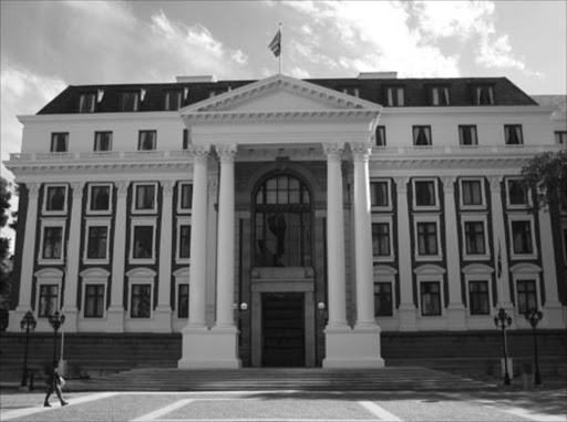 Parliament building in Cape Town.
