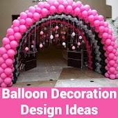 Balloon Decoration Design Idea
