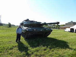 Photo: Jag vid stridsvagn122