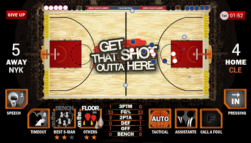 TNBC Basketball Coach Demo