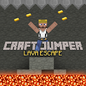 Craft Jumper: Lava Escape