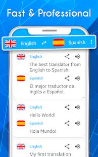English – Spanish. Translator 2