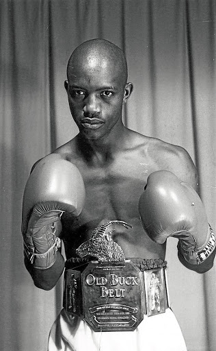 Boxing hero Tsietsi Maretloane.