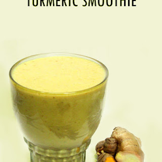 Detoxifying Turmeric Smoothie.