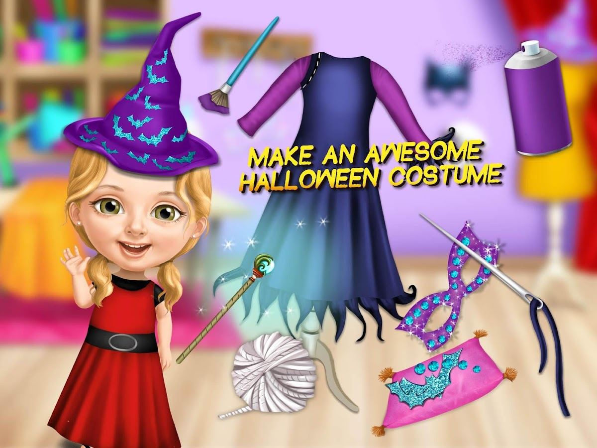 Sweet Baby Girl Halloween Fun- screenshot