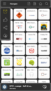 Hungary Radio online - náhled