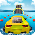 Water Surfing Car Stunts APK