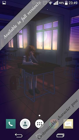 android Anime School 3D Free Screenshot 4