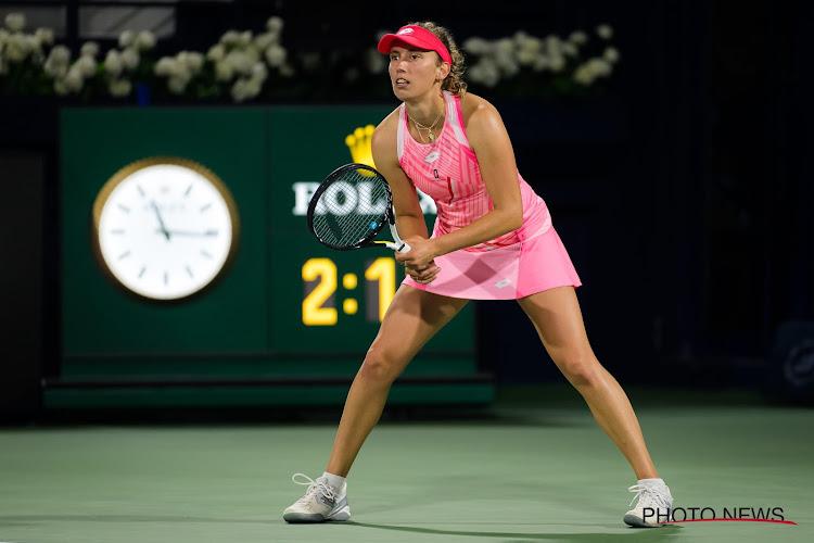 Elise Mertens redt drie matchballen en gaat via schitterende comeback naar halve finales in Dubai