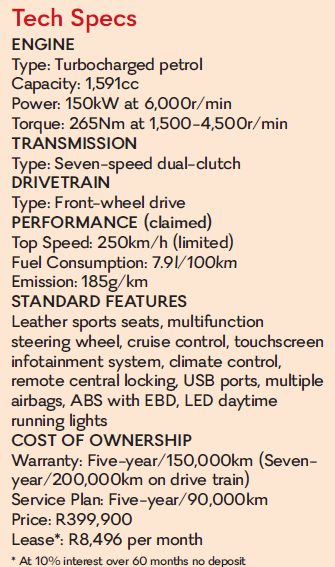Specifications.