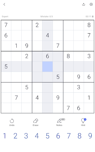 Sudoku - Sudoku puzzle, Brain game, Number game screenshots 19