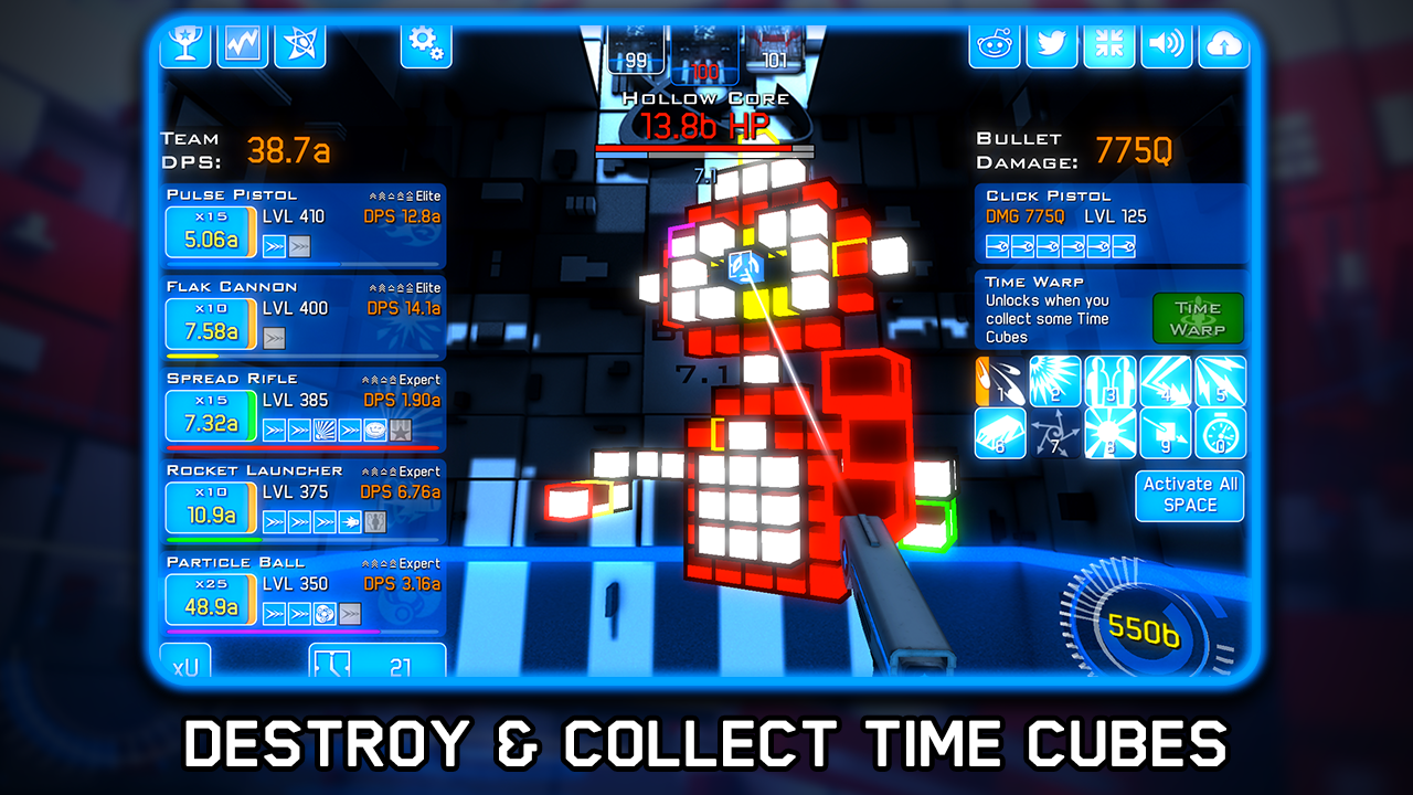 Time Clickers- screenshot