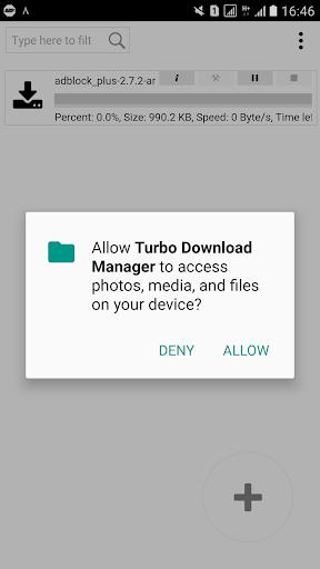 turbo downloader screenshot 1