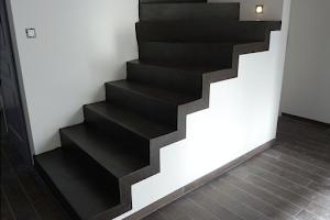 escalier béton ciré loiret