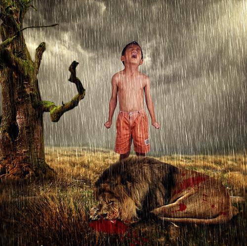 My Lion's Die by Imam Syafi'i - Digital Art People