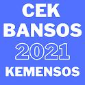 Cek Bansos Kemensos BST DTKS 2021 icon
