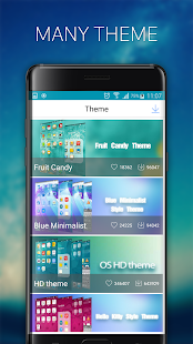 OS11 Launcher and Themes Screenshot