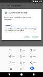 screenshot of Chrome Remote Desktop