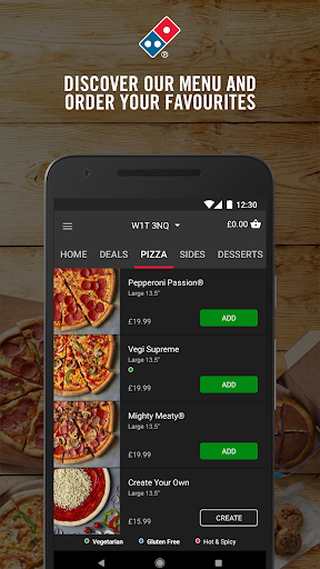 Domino's Pizza 2.50.0.440 Screenshots 2