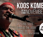 Koos Kombuis live at the music kitchen : The Music Kitchen