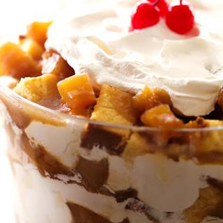 Pineapple Upside Down Cake Trifle