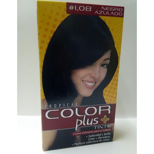 Tinte Color Plus Kit 1.08 Negro Azulado