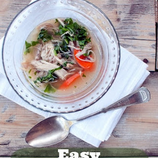 Easy Chicken Soup for the Crock Pot Recipe