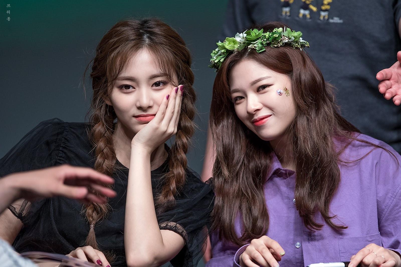 twice tzuyu jeongyeon
