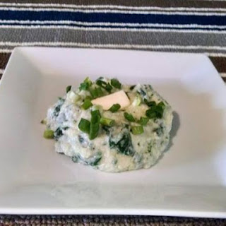 Spinach and Feta Cauliflower Mash