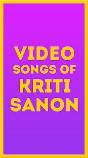 Video Songs of Kriti Sanon - náhled