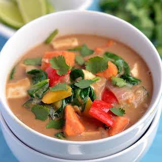 Peanut Thai Vegetable Stew.
