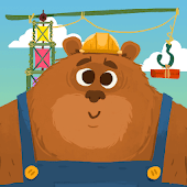 Mr. Bear & Friends: Construction Puzzle for Kids