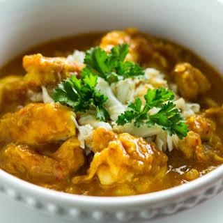 Paleo Bayou Mixed-Seafood Curry.