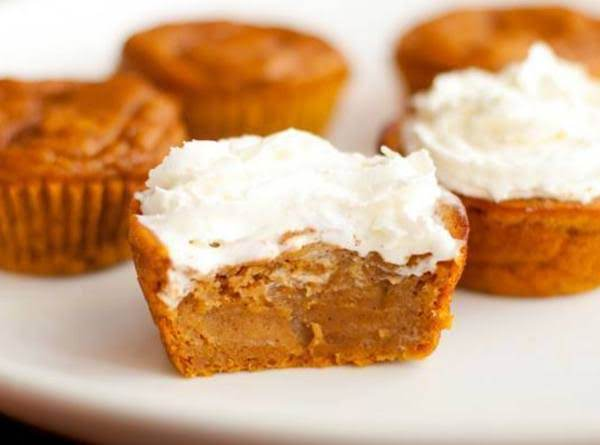 Impossible Pumpkin Pie Cupcakes Recipe