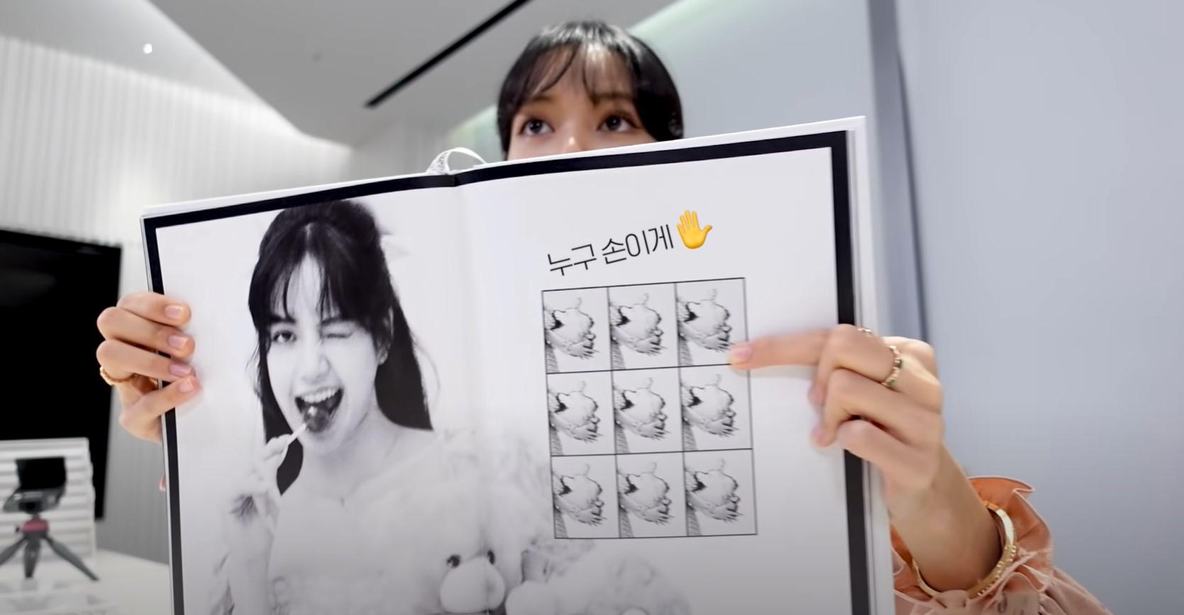 lisa photobook jisoo