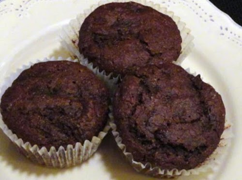 "Chocolate-Zucchini Muffins ""These got the stamp of approval from the entire house!""..."