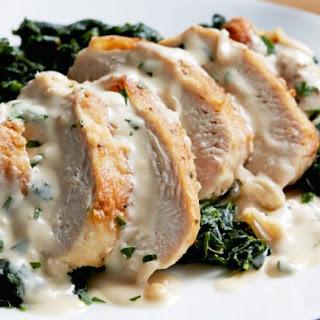 Chicken Florentine.